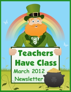 March and St. Patrick's Day Free Teaching Resources