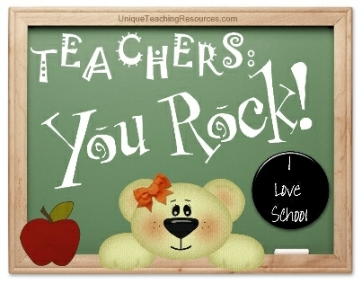 Teachers - You Rock!