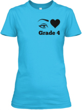 I love Grade 4 Teacher T-Shirt