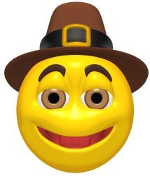 Thanksgiving Pilgrim Graphic