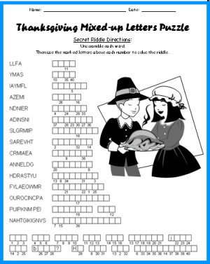math worksheet : thanksgiving bulletin board displays and puzzles for november  : Thanksgiving Math Puzzles Worksheets