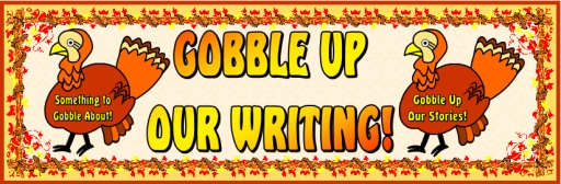 Thanksgiving Turkey Creative Writing Activities Free Bulletin Board Banner
