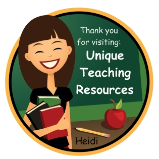 Thank You For Visiting Unique Teaching Resources