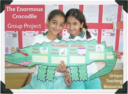 The Enormous Crocodile by Roald Dahl Creative Ideas For Group Projects