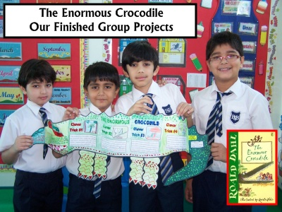 Roald Dahl Fun Ideas for Student Projects for The Enormous Crocodile Lesson Plans