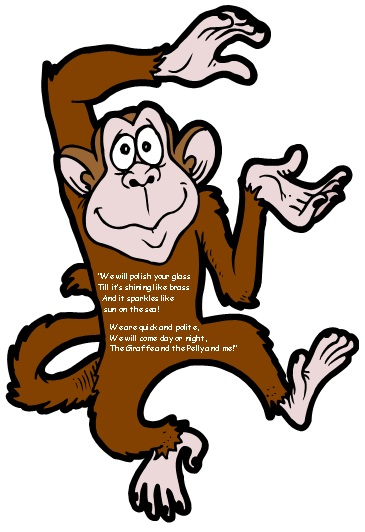 The Giraffe and the Pelly and Me Monkey Poem