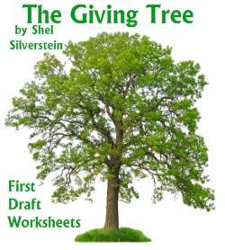 The Giving Tree First Draft Printable Worksheets Elementary School Students