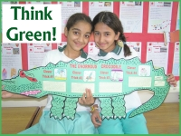 Think Green Enormous Crocodile Group Project