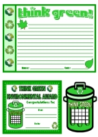 Think Green Teaching Resources Set