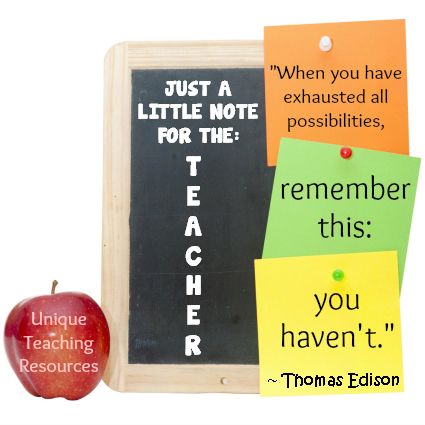 Thomas Edison quote - When you have exhausted all possibilities