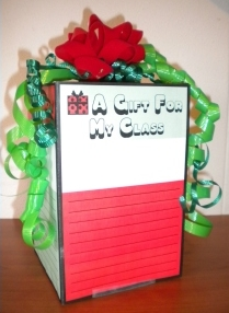 Three Dimensional Gift Box and Present Project Templates for Elementary School Students