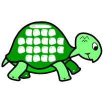 Turtle Shaped Sticker Charts For Elementary School Teachers