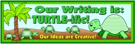 Spring Teaching Resources Turtle Bulletin Board Display Banner