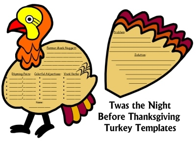 Twas the Night Before Thanksgiving Fun Turkey Projects for Students by Dav Pilkey