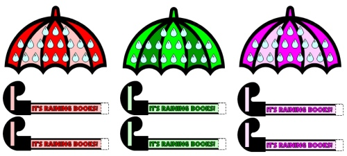 It's Raining Books April Reading Sticker Chart Set