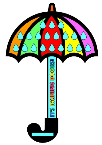 Reading Umbrella Sticker Chart for Spring and April