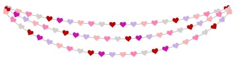 Valentine's Day Divider