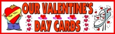 Valentine's Day Bulletin Board Banner and Display Ideas