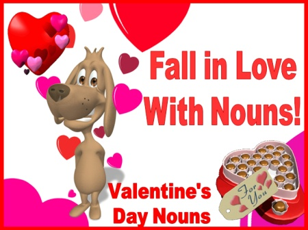 Valentine's Day Powerpoint Lesson Plans Nouns