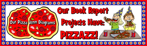 Venn Diagram Pizza Bulletin Board Display Banner