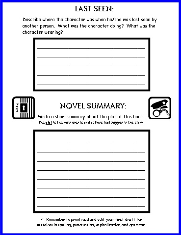 Wanted Poster  First Draft  Worksheets