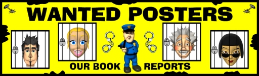 Wanted Posters Book Report Projects Bulletin Board Display Examples