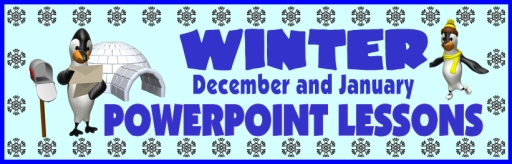 Christmas and Winter Powerpoint Lessons and Activities