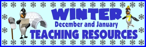 Winter Teaching Resources for December, Christmas, and January