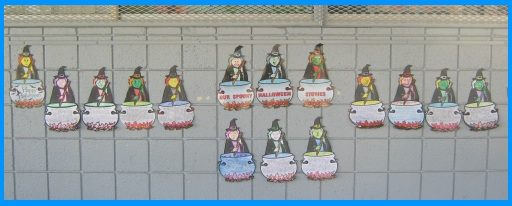 Halloween Witch Bulletin Board Display Creative Writing Idea