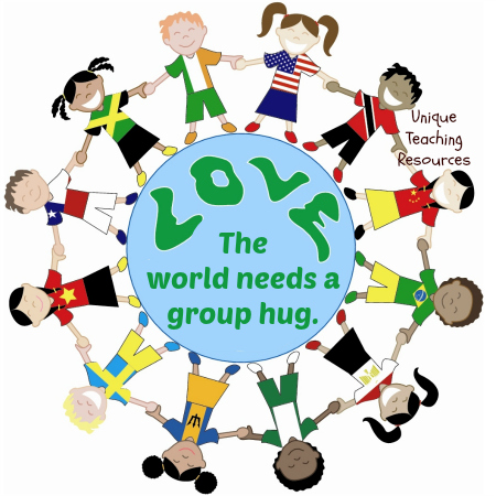 The world needs a group hug.