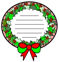 Wreath Creative Writing Templates For A Christmas Carol by Charles Dickens
