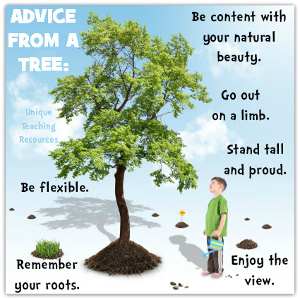 Advice From a Tree Quotes About Nature