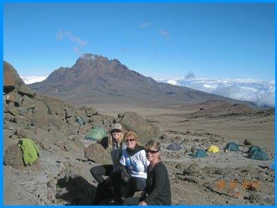 Heidi McDonald Teacher Mt. Kilimanjaro Hike With Friends