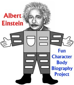 Albert Einstein Fun Biography Book Report Project For Students