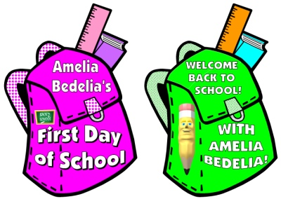 Amelia Bedelia's First Day of School Bulletin Board Display Teaching Resources
