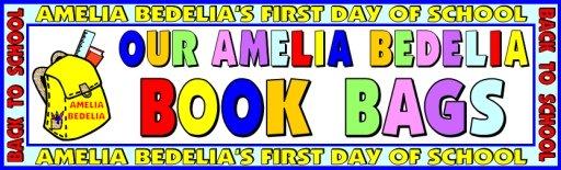Amelia Bedelia Elementary Student Book Bag Backpacks Bulletin Board Display