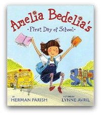 Amelia Bedelia Book Cover and Creative Book Report Projects