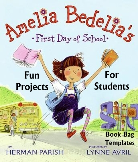 Amelia Bedelia First Day of School Lesson Plans Author Herman Parish Fun Lesson Plans and Student Activities