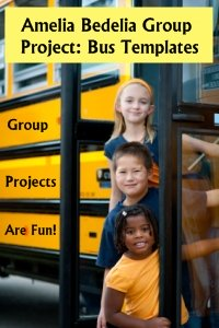 Amelia Bedelia's First Day of School Fun Group Project Ideas for Elementary Students