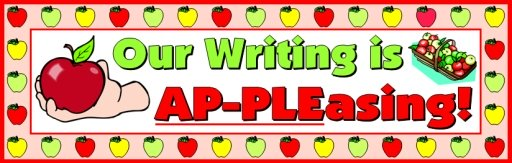 Apple Theme Bulletin Board Display for Elementary Classroom First Day of School