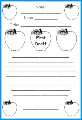 1st grade printable writing worksheets