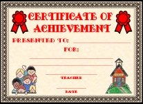 Achievement Awards and Certificates