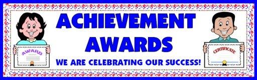 achievement awards certificates