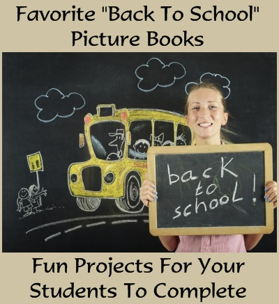 Back To School read aloud books for teachers, lesson plans, and fun book report projects.