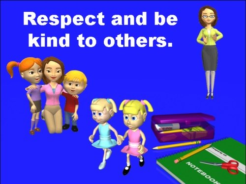 Back to School Powerpoint Classroom and School Rules
