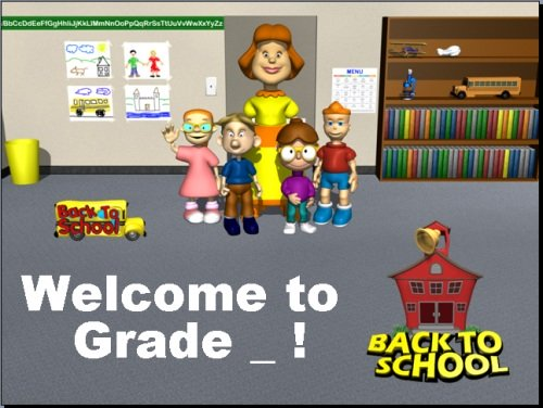 Welcome Back to School Power Point Classroom Rules and Expectations