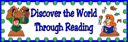 Discover the World Reading Banner