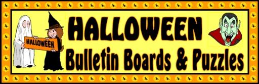 Halloween Bulletin Board Displays