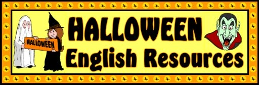 Halloween English Teaching Resources