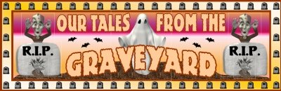 Happy Halloween Bulletin Board Display Banner Graveyard Stories